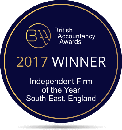 British Accountancy Awards Winner 2017
