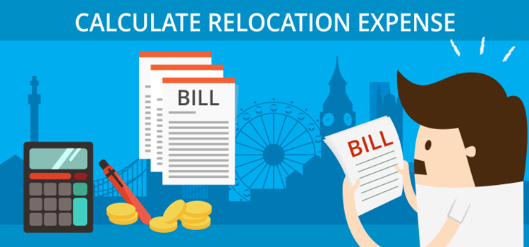 Calculate Relocation Expense