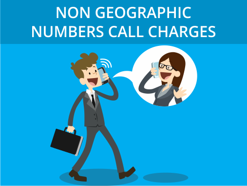 Non Geographic Numbers Call Charges