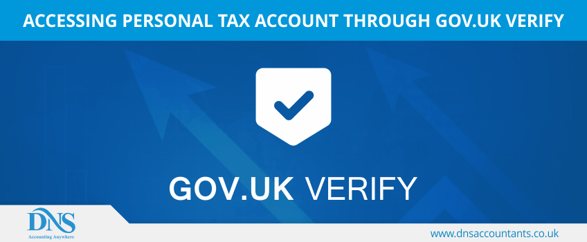 Accessing Personal Tax Account through Gov.UK Verify