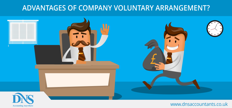 Advantages of Company Voluntary Arrangement?