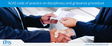 ACAS Code of Practice on Disciplinary and Grievance Procedure
