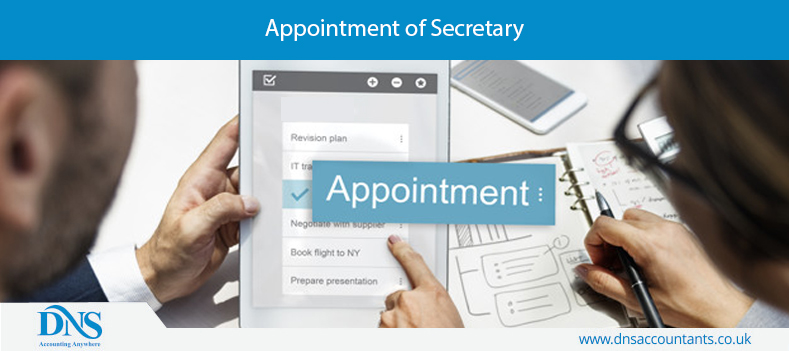 Appointment of Secretary