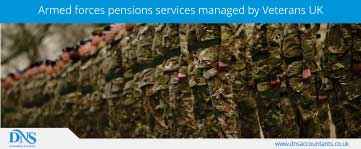 Armed forces pensions – pension services managed by Veterans UK