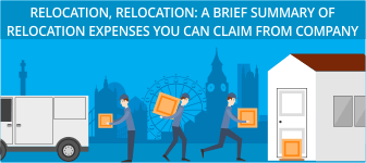 Relocation, Relocation: A brief summary of relocation expenses you can claim from company