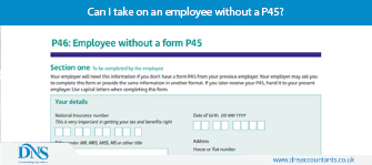 Can I take on an employee without a P45?