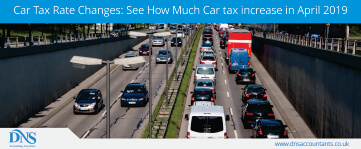 Car Tax Rate Changes in 2019