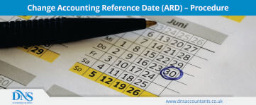 Change Accounting Reference Date (ARD) - Procedure