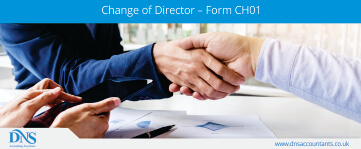 Change of Director – Form CH01