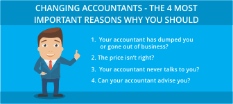 Changing Accountants - The 4 Most Important Reasons Why You Should