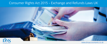 Consumer Rights Act 2015 – Exchange and Refunds Laws UK