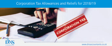 Corporation Tax Allowances and Reliefs for 2018/19