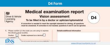 Download D4 Form | DVLA's Medical Exam