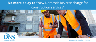 "No more delay to ""New Domestic Reverse charge for construction services"""