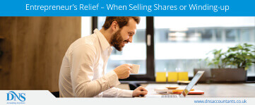 Entrepreneur's Relief – When Selling Shares or Winding-up