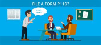 File a form P11D?