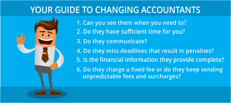 Your Guide To Changing Accountants