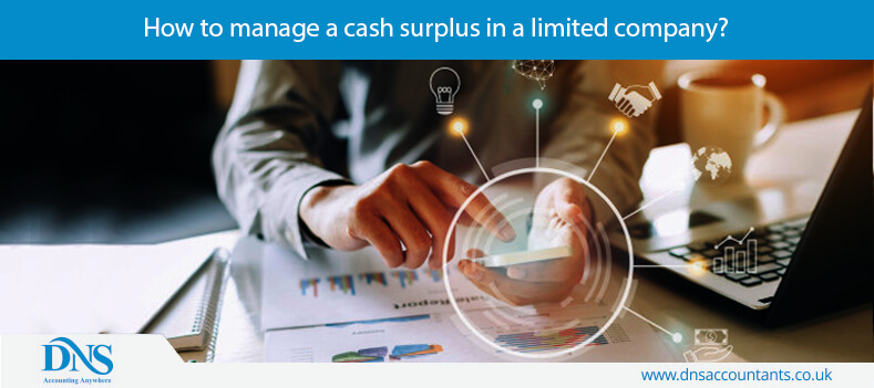 How to manage a cash surplus in a limited company?