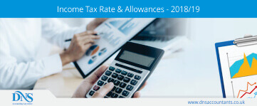 Income Tax Rate and Allowances for 2018/19