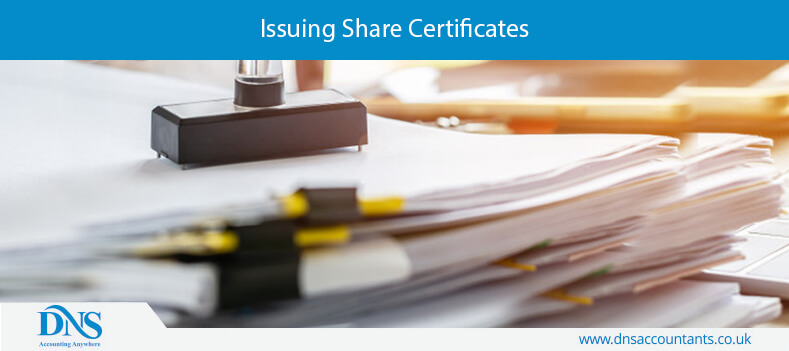 Issuing Share Certificates