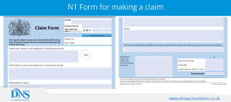 Download and Fill Form N1 for Making a Claim