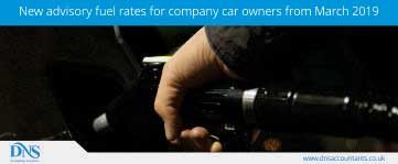 New advisory fuel rates for company car owners from March 2019