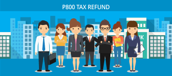 P800 TAX REFUND