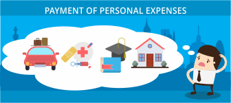 Payment of Personal Expenses