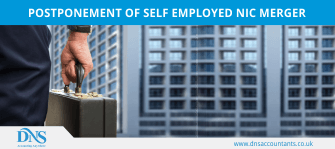 Postponement of Self Employed NIC Merger