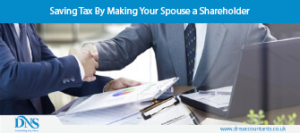 Saving Tax By Making Your Spouse a Shareholder
