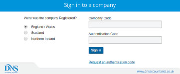 How to Change the Companies House Web Authentication Code?