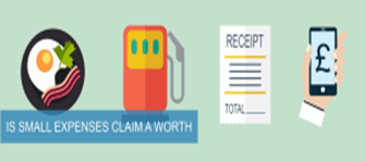 is small expenses claim a worth