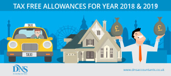 What are the Personal Tax Free Allowances for 2018/19?