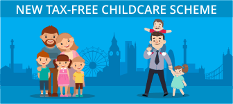 New Tax-Free Childcare scheme