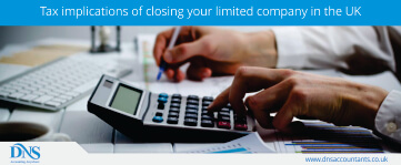Tax Implications on Closing A Limited Company