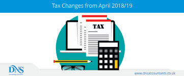 Tax Changes from April 2018/19