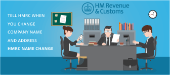 Tell HMRC When you Change Company Name and Address