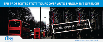 The Pension Regulator Prosecutes Stott Tours over Auto Enrolment Offences