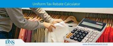 Calculate Tax Rebate on Uniforms
