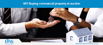 VAT: Buying commercial property at auction