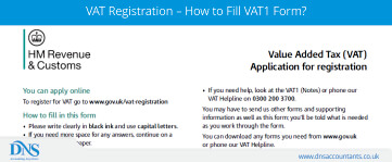 VAT Registration – How to Fill VAT1 Form?