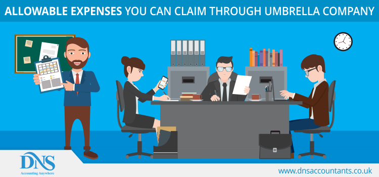 Allowable expenses you can claim through Umbrella Company