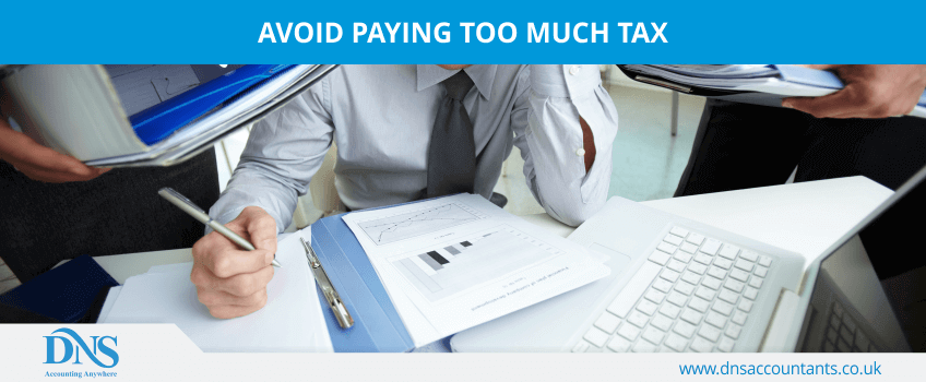 Avoid Paying Too Much Tax
