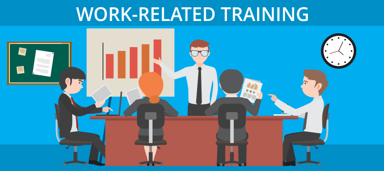 Cash on work related training