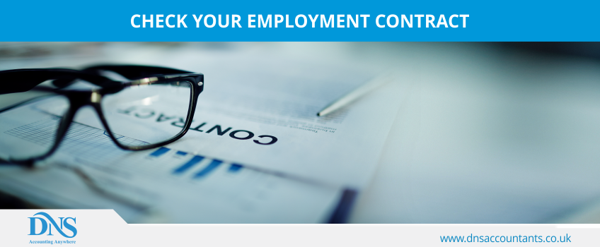 Check Your Employment Contract
