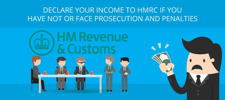 Declare your income to HMRC if you have not or face ...