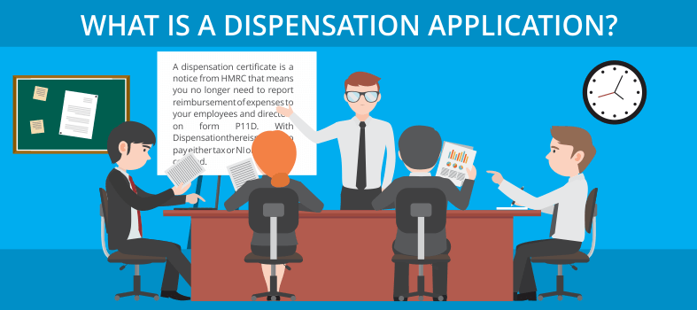 Dispensation application