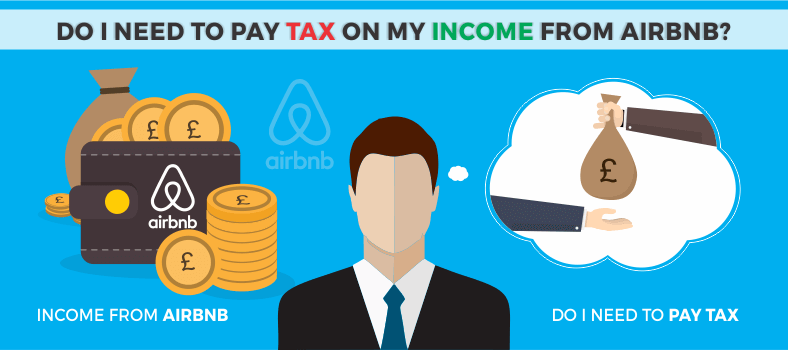 Need to pay tax on my income from airbnb