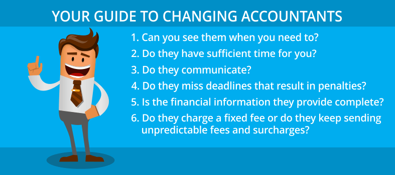 Guide To Changing Accountants