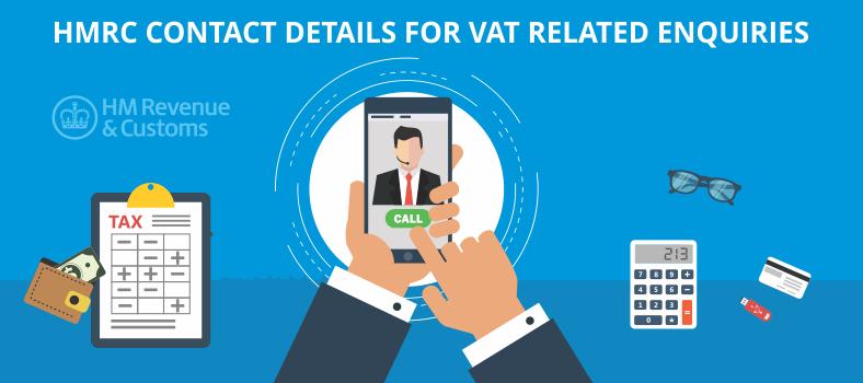 HMRC Contact Details for VAT
